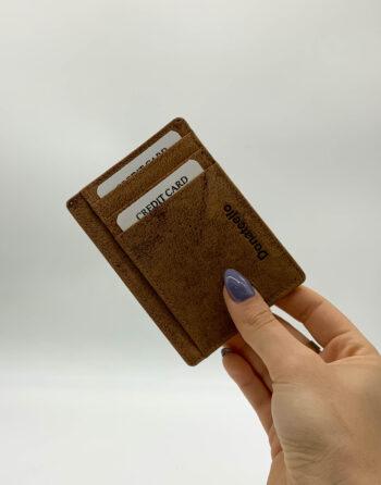 ארנק עור דף לכרטיסי אשראי #7620
