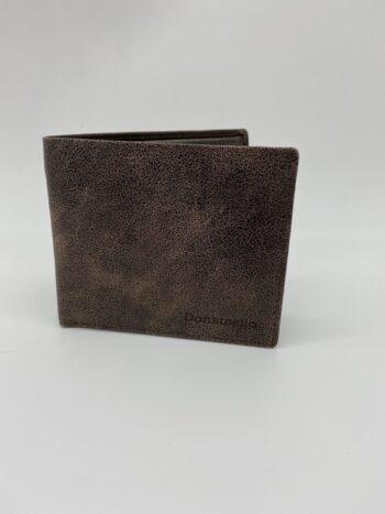 ארנק עור ספר קטן dist עם חלון בגב הארנק - #26315