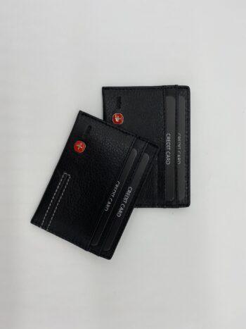 ארנק עור דף לכרטיסי אשראי - #18015